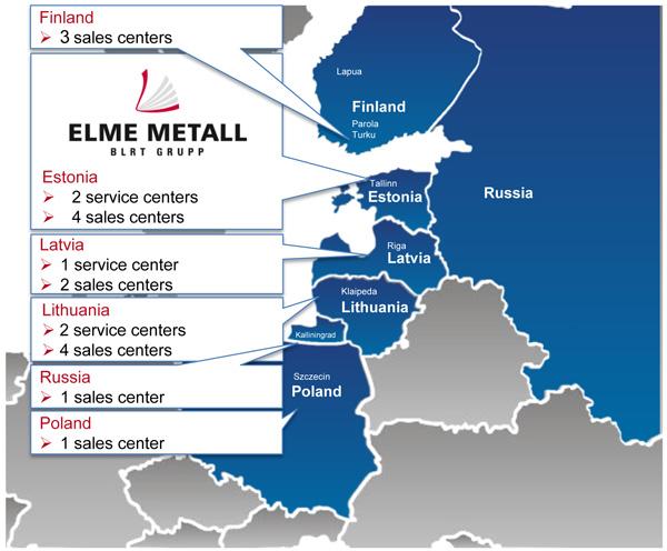 Elme Metall Finland Ltd Strong Partnership Elme Metall